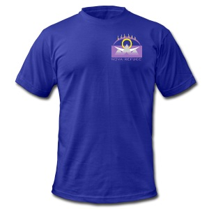 Nova Refuge Yavakaro Badge Men's T-Shirt - Men's T-Shirt by American Apparel