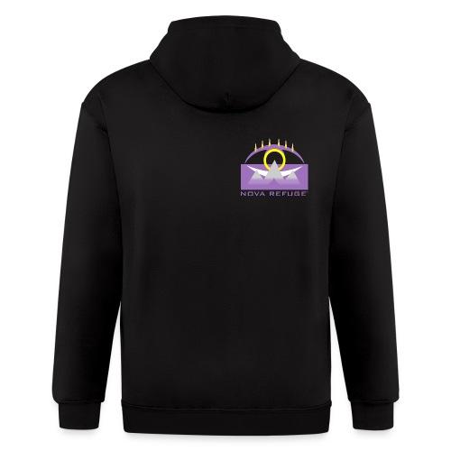 Nova Refuge Yavakaro Badge Men's T-Shirt - Men's Zip Hoodie