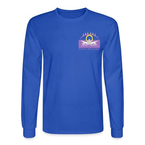 Nova Refuge Yavakaro Badge Men's T-Shirt - Men's Long Sleeve T-Shirt