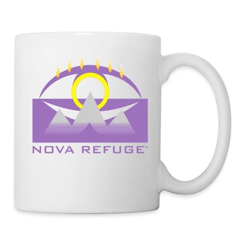 Nova Refuge Yavakaro Badge Men's T-Shirt - Coffee/Tea Mug