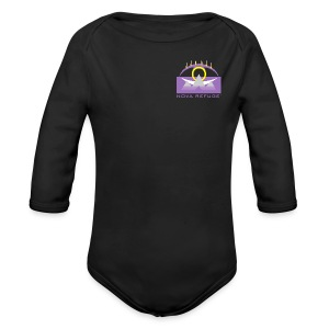 Nova Refuge Yavakaro Badge Men's T-Shirt - Long Sleeve Baby Bodysuit
