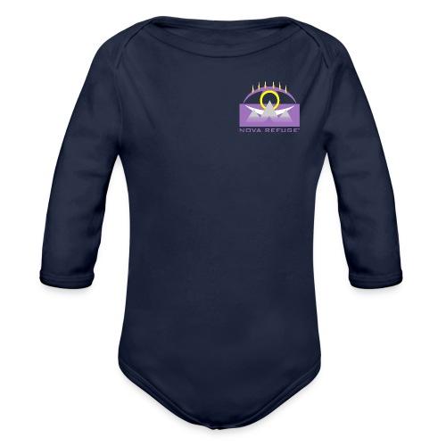 Nova Refuge Yavakaro Badge Men's T-Shirt - Organic Long Sleeve Baby Bodysuit