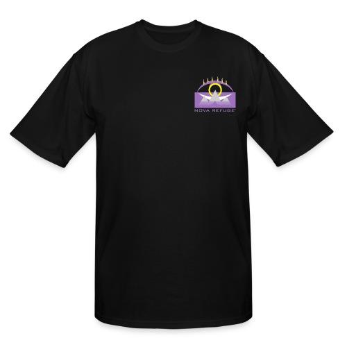 Nova Refuge Yavakaro Badge Men's T-Shirt - Men's Tall T-Shirt