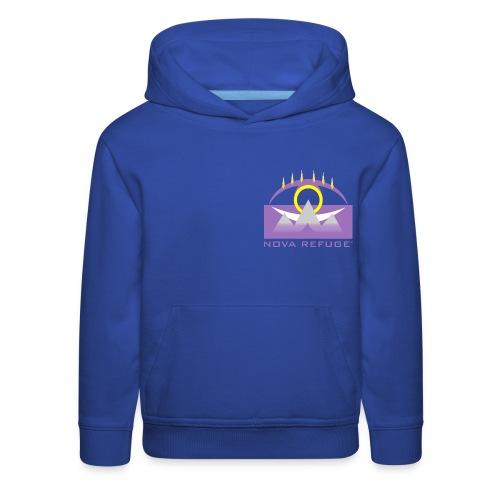 Nova Refuge Yavakaro Badge Men's T-Shirt - Kids' Premium Hoodie