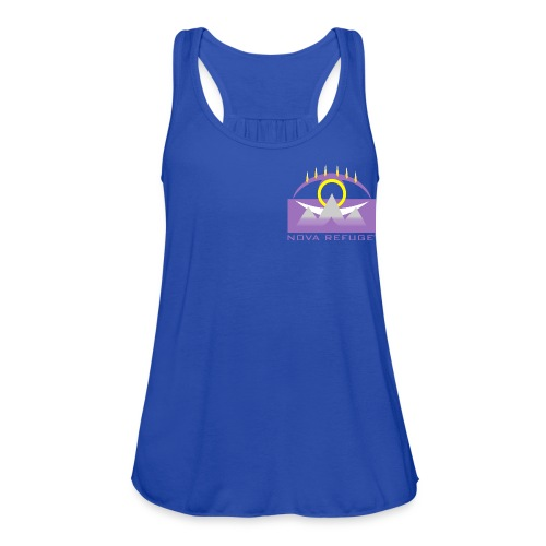 Nova Refuge Yavakaro Badge Men's T-Shirt - Women's Flowy Tank Top by Bella