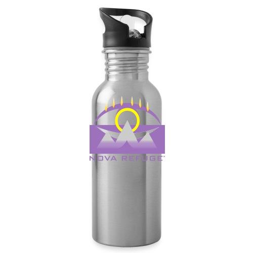 Nova Refuge Yavakaro Badge Men's T-Shirt - Water Bottle