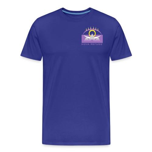 Nova Refuge Yavakaro Badge Men's T-Shirt - Men's Premium T-Shirt