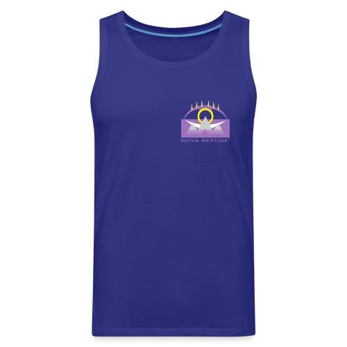 Nova Refuge Yavakaro Badge Men's T-Shirt - Men's Premium Tank