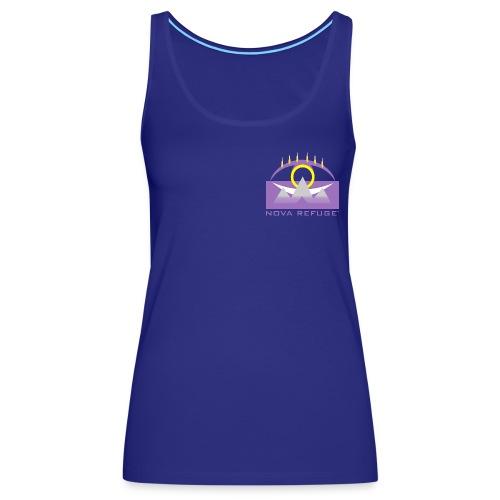 Nova Refuge Yavakaro Badge Men's T-Shirt - Women's Premium Tank Top