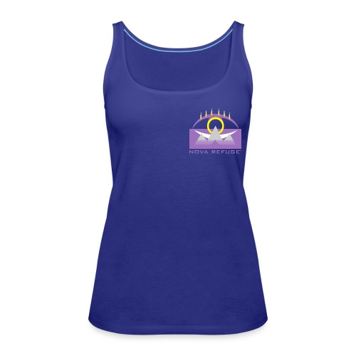Nova Refuge Yavakaro Badge Men's T-Shirt - Women's Premium Tank Top