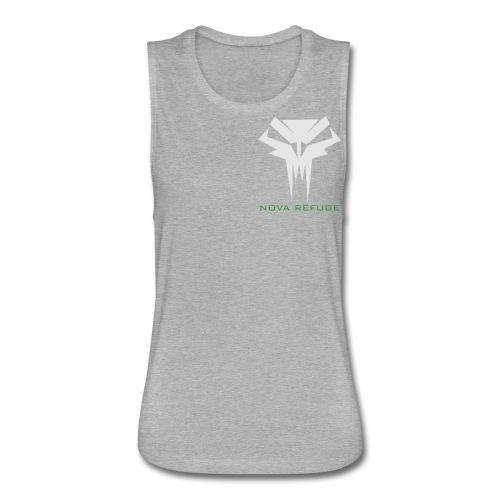 Nova Refuge Grimm's Army Badge Men's T-Shirt - Women's Flowy Muscle Tank by Bella