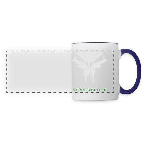 Nova Refuge Grimm's Army Badge Men's T-Shirt - Panoramic Mug