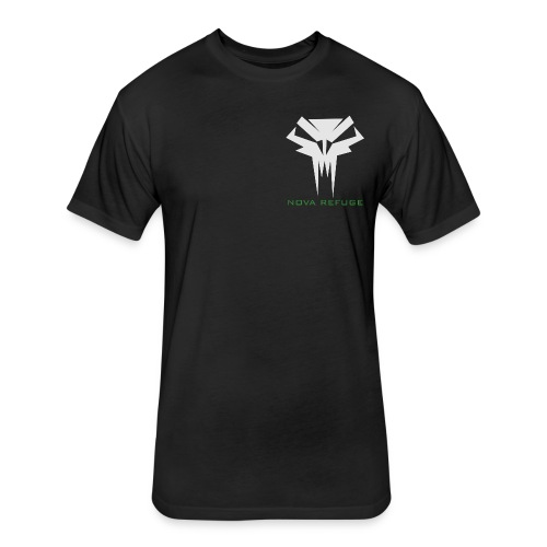 Nova Refuge Grimm's Army Badge Men's T-Shirt - Fitted Cotton/Poly T-Shirt by Next Level