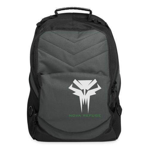 Nova Refuge Grimm's Army Badge Men's T-Shirt - Computer Backpack