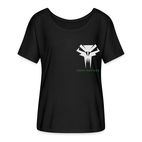 Nova Refuge Grimm's Army Badge Men's T-Shirt - Women's Flowy T-Shirt