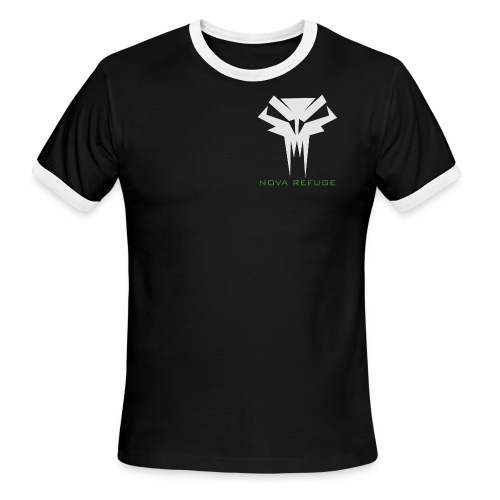 Nova Refuge Grimm's Army Badge Men's T-Shirt - Men's Ringer T-Shirt