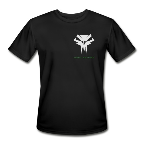 Nova Refuge Grimm's Army Badge Men's T-Shirt - Men's Moisture Wicking Performance T-Shirt