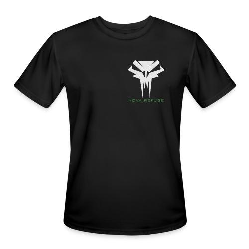 Nova Refuge Grimm's Army Badge Men's T-Shirt - Men's Moisture Wicking Performance T-Shirt