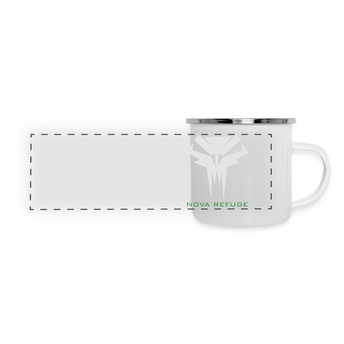 Nova Refuge Grimm's Army Badge Men's T-Shirt - Panoramic Camper Mug