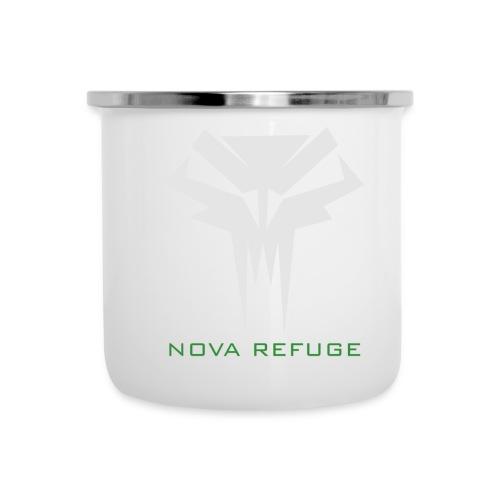 Nova Refuge Grimm's Army Badge Men's T-Shirt - Camper Mug