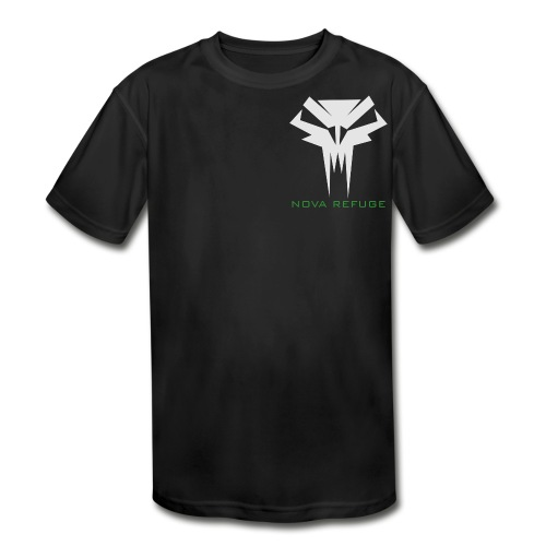Nova Refuge Grimm's Army Badge Men's T-Shirt - Kid's Moisture Wicking Performance T-Shirt