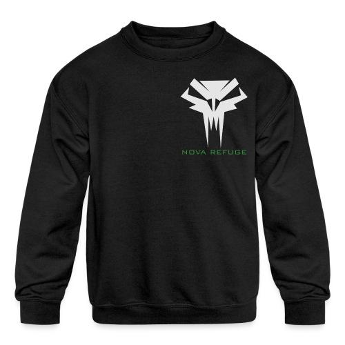 Nova Refuge Grimm's Army Badge Men's T-Shirt - Kids' Crewneck Sweatshirt