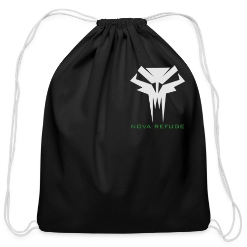 Nova Refuge Grimm's Army Badge Men's T-Shirt - Cotton Drawstring Bag