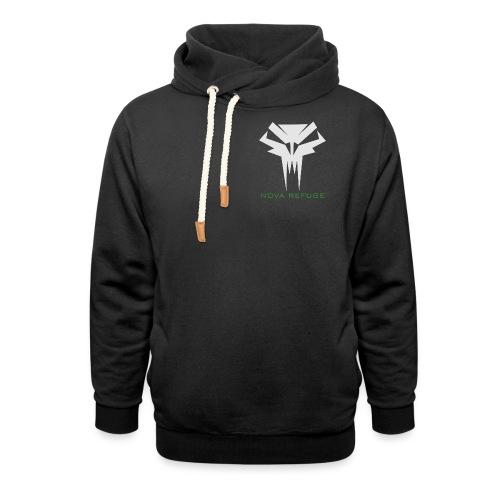 Nova Refuge Grimm's Army Badge Men's T-Shirt - Shawl Collar Hoodie