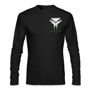 Nova Refuge Grimm's Army Badge Men's T-Shirt - Men's Long Sleeve T-Shirt by Next Level