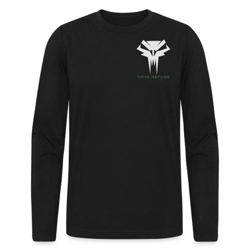 Nova Refuge Grimm's Army Badge Men's T-Shirt - Men's Long Sleeve T-Shirt by Next Level