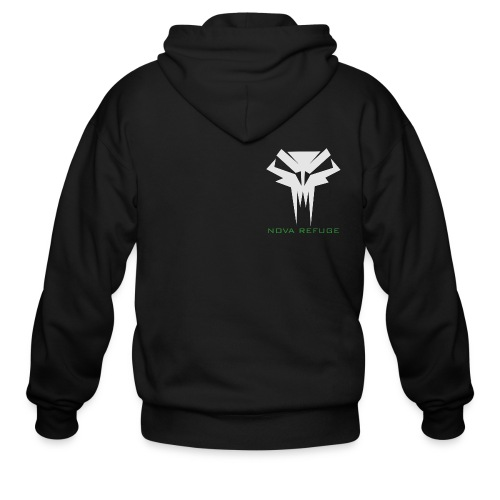 Nova Refuge Grimm's Army Badge Men's T-Shirt - Men's Zip Hoodie