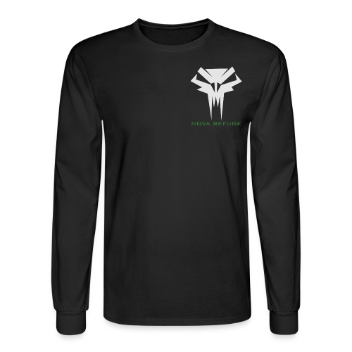 Nova Refuge Grimm's Army Badge Men's T-Shirt - Men's Long Sleeve T-Shirt