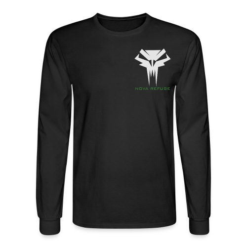 Nova Refuge Grimm's Army Badge Men's T-Shirt - Men's Long Sleeve T-Shirt