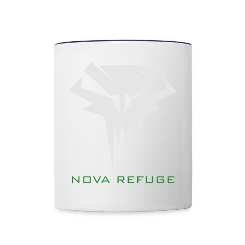 Nova Refuge Grimm's Army Badge Men's T-Shirt - Contrast Coffee Mug