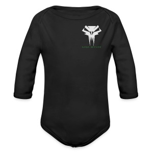 Nova Refuge Grimm's Army Badge Men's T-Shirt - Long Sleeve Baby Bodysuit