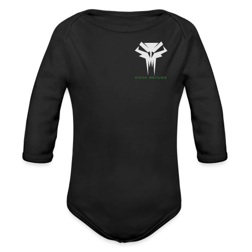 Nova Refuge Grimm's Army Badge Men's T-Shirt - Organic Long Sleeve Baby Bodysuit