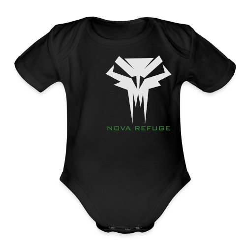Nova Refuge Grimm's Army Badge Men's T-Shirt - Organic Short Sleeve Baby Bodysuit