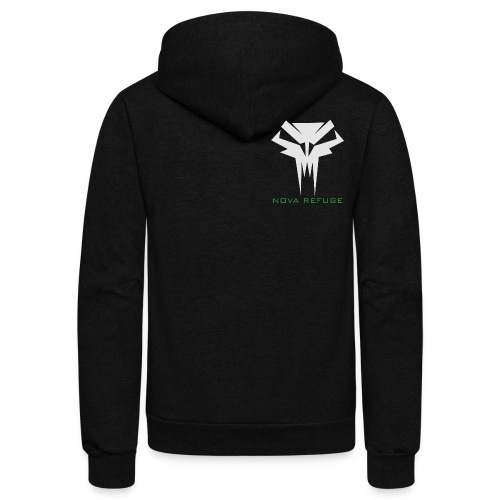 Nova Refuge Grimm's Army Badge Men's T-Shirt - Unisex Fleece Zip Hoodie