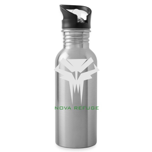 Nova Refuge Grimm's Army Badge Men's T-Shirt - Water Bottle