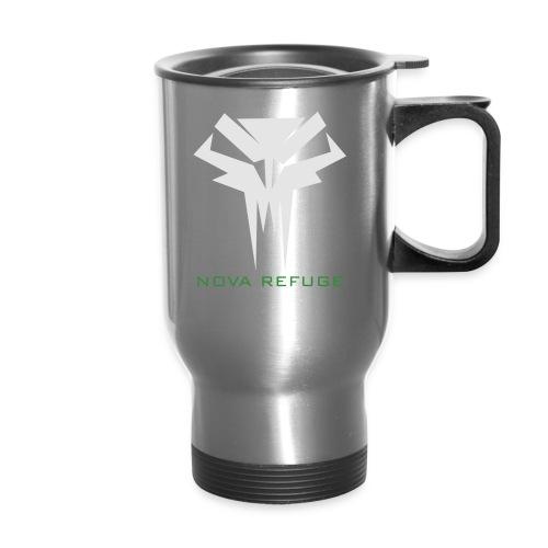 Nova Refuge Grimm's Army Badge Men's T-Shirt - Travel Mug