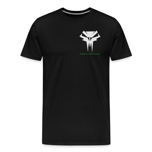 Nova Refuge Grimm's Army Badge Men's T-Shirt - Men's Premium T-Shirt