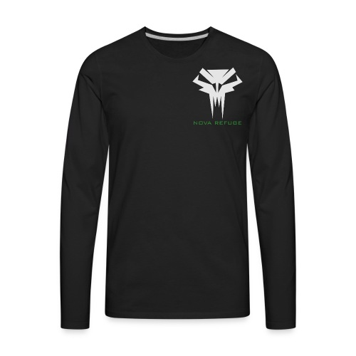 Nova Refuge Grimm's Army Badge Men's T-Shirt - Men's Premium Long Sleeve T-Shirt