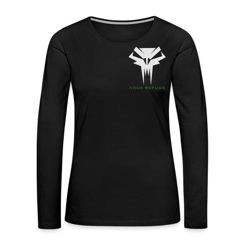 Nova Refuge Grimm's Army Badge Men's T-Shirt - Women's Premium Long Sleeve T-Shirt
