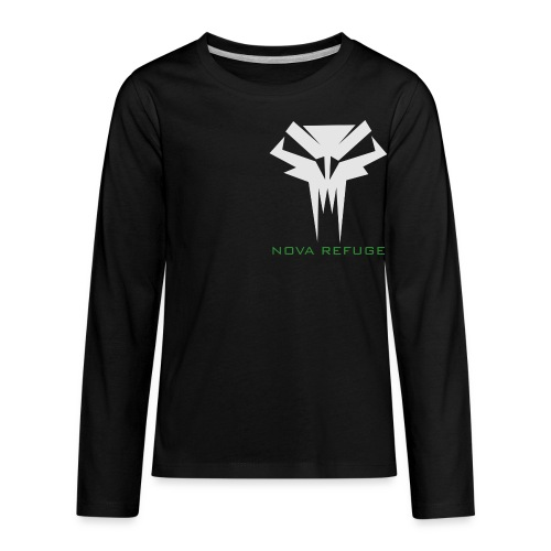 Nova Refuge Grimm's Army Badge Men's T-Shirt - Kids' Premium Long Sleeve T-Shirt