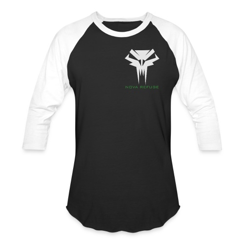 Nova Refuge Grimm's Army Badge Men's T-Shirt - Baseball T-Shirt