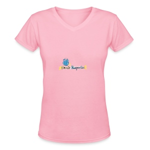 Ora de Despertar- Baby  - Women's V-Neck T-Shirt