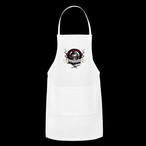 Large Buttons - Adjustable Apron
