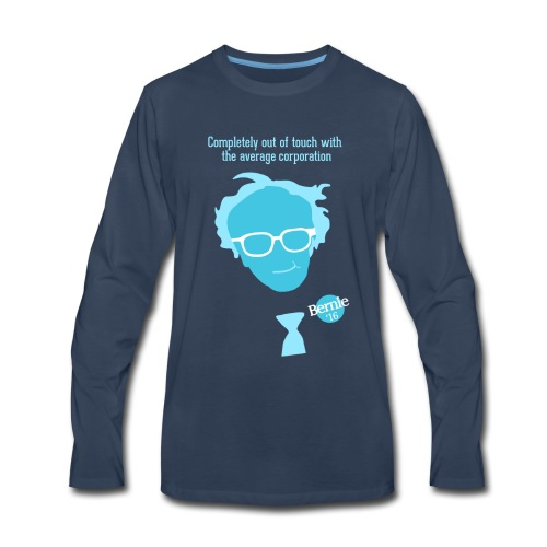 Bern the Corporations! - Men's Premium Long Sleeve T-Shirt
