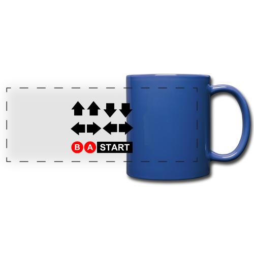 Contra Code Full Color Mug - Full Color Panoramic Mug