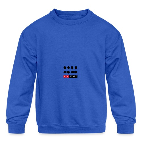Contra Code Full Color Mug - Kid's Crewneck Sweatshirt